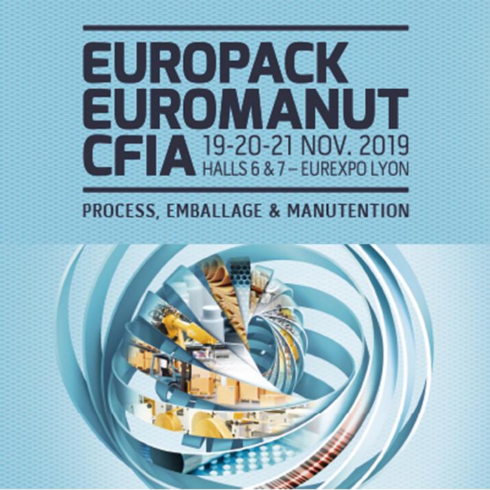 Retrouvez-nous sur le salon EUROPACK 2019 !