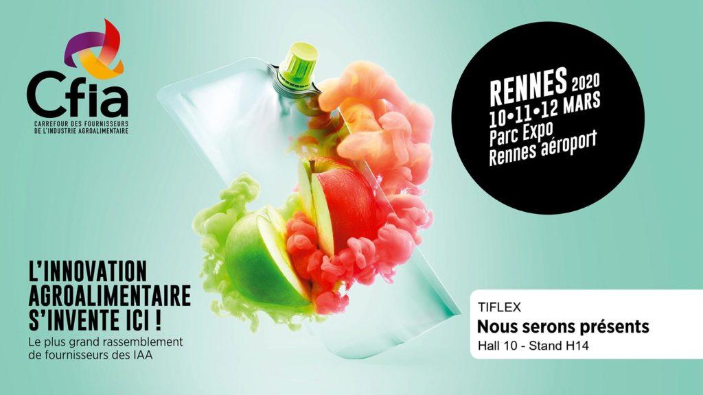 CFIA Rennes 10 mars 2020 : nous serons à nouveau présents !