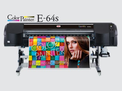 imprimante numerique grand format Solvant Oki E64s