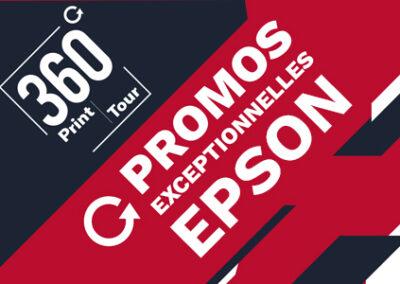 Découvrez nos promotions exceptionnelles Epson