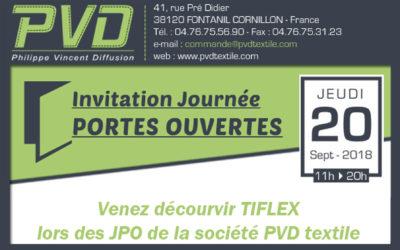 Journées Portes Ouvertes de PVD textile