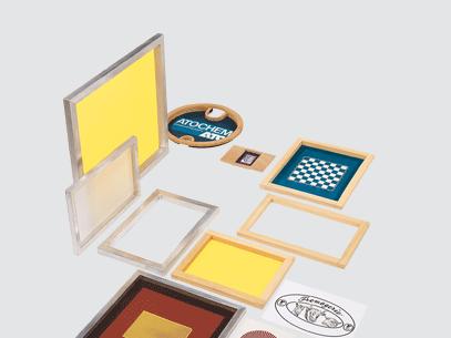 Screen Printing Fabric Screen