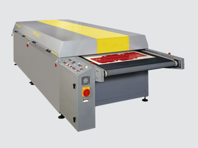 Screen Printing Material Jet Air Drying Tunnel