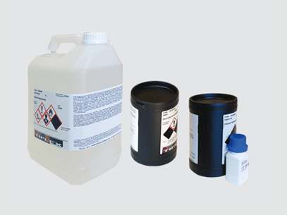 Screen Printing Photosensible Solution Cheminal line for screen making