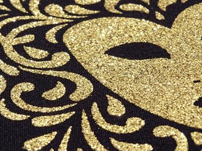 Screen Printing Textile Ink Glitter Glue