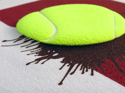 Screen Printing Textile Ink Special Effect Crea