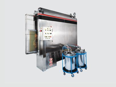 Tiflex Serigraphie Nettoyage Ecran Laveur Automatique Pneumatique